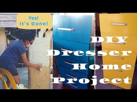 DIY Dresser Home Project Part3