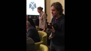Фрагмент выступления Елены Шуваловой на заседании РВИО