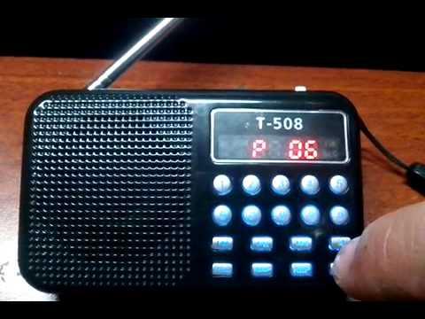 радио т 508 инструкция
