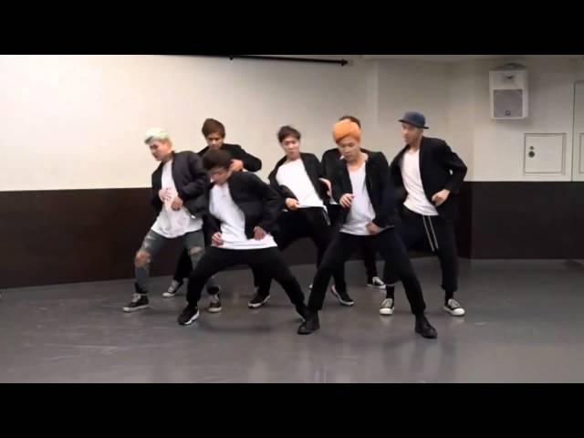 BTS 'RUN' mirrored Dance Practice