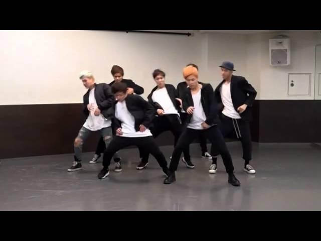BTS 'RUN' mirrored Dance Practice