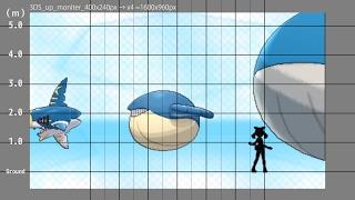ポケモンORAS たかさ比べ進化系列順