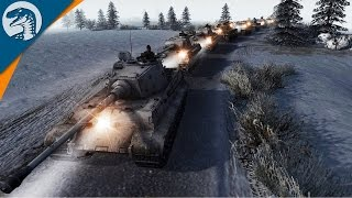 BATTLE OF THE BULGE BEGINS | Endless Hope Mod | Men of War: Assault Squad 2 [MOD] Gameplay