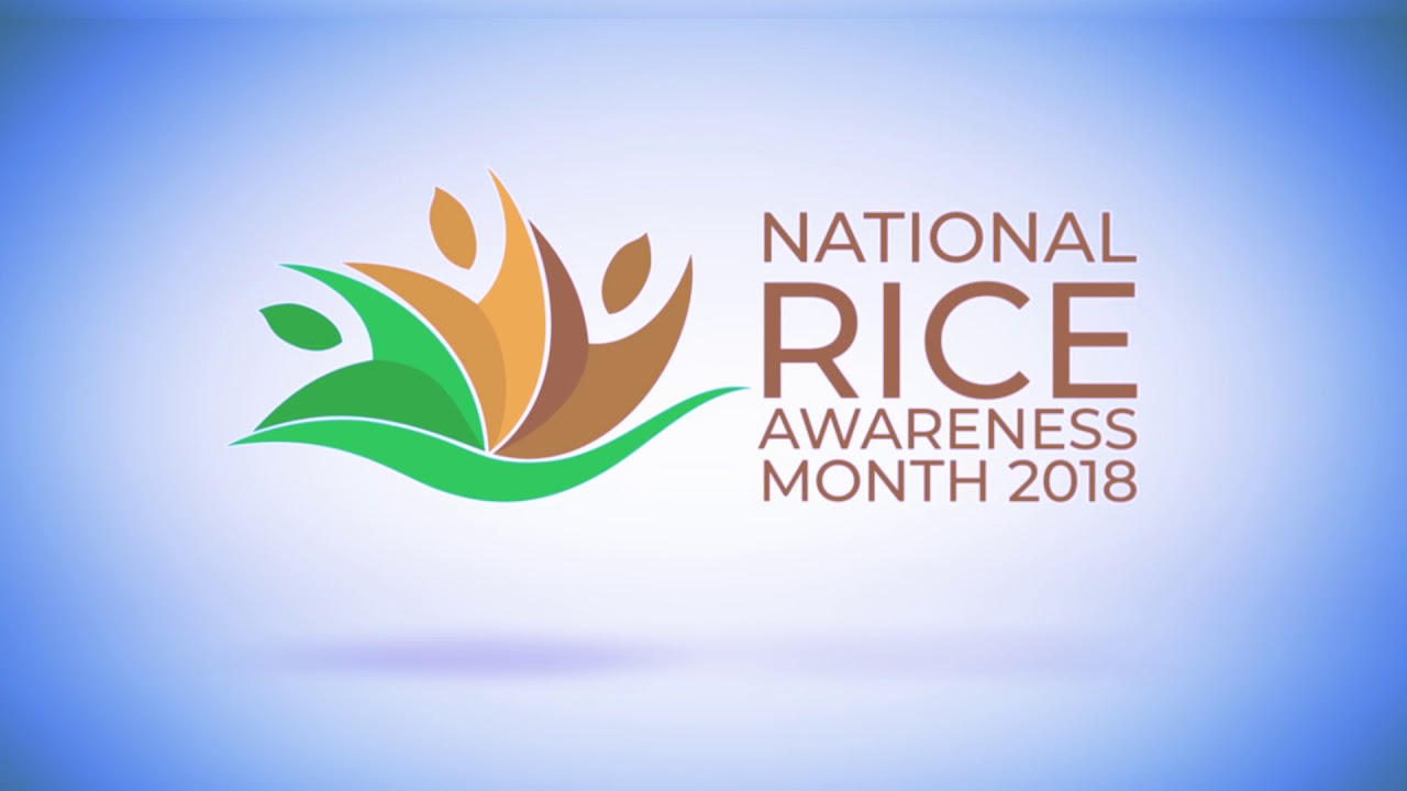 november is national rice awareness month youtube