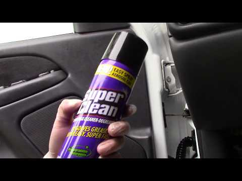 Super Clean Aerosol In Car Door Jambs: A Winner!!!