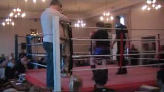 Megan Corwell V Sammy Preston - Golden Belt Junior NW Area Title - PART 1