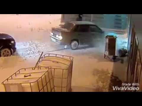 Kazan Russia drunk driver in airport