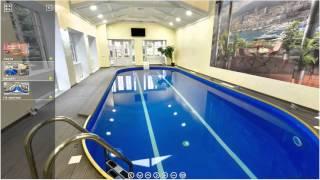 Сауна, бассейн в Тарасово(Посмотреть виртуальный тур по сауне, бассейну в Тарасово можно здесь: https://round.me/tour/22001/view/56453/ Проектирование..., 2016-01-19T13:40:20.000Z)