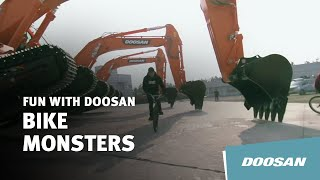 Bike Monsters with Doosan Excavators Thumbnail