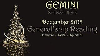 GEMINI | Where Does The Loyalty Lie? Dec 2018 Love, Spiritual, & General Tarot Reading