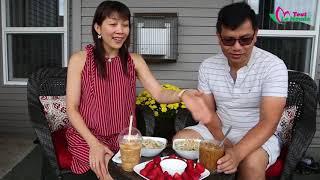Cháo heo quay, bạn đã thử chưa? Ngon lắm nhé 🇨🇦86》 BBQ pork congee & century eggs