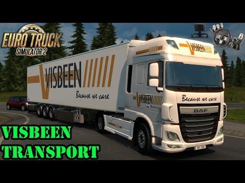 ETS2 - DAF XF Visbeen Transport Combo