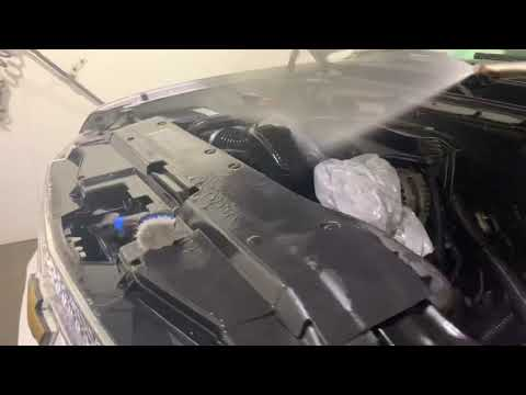 How to clean a Chevy Tahoe engine compartment