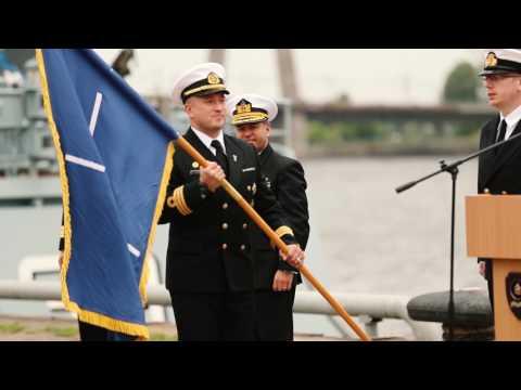 Latvija pirmo reizi pārņem NATO 1.pastāvīgās jūras pretmīnu grupas vadību