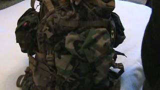 USMC ILBE Improved Load Bearing Equipment, Backpack
