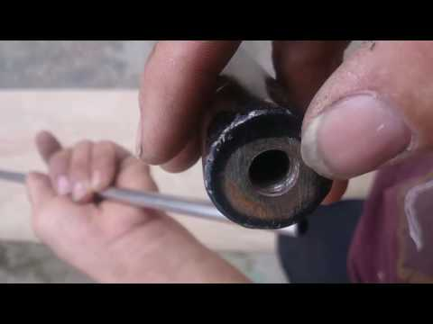 Chế súng hơi pcp p4 - Hướng dẫn chế nòng súng
