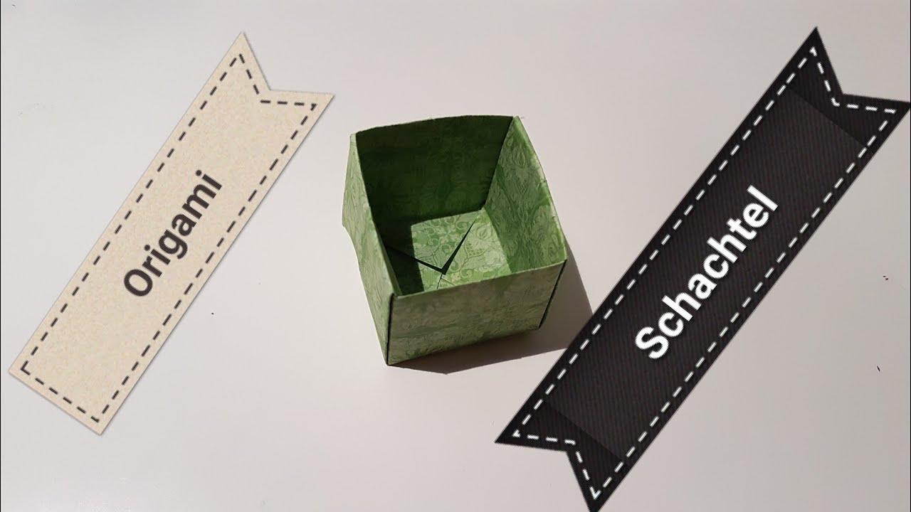 Diy Origami Schachtel Einfach Basteln