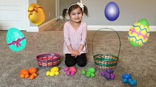 Easter Egg Hunts for Kids! Fun Playtime and Learn Colours for kids!