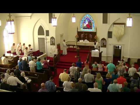 Mt. Tabor Lutheran Church Service May 22, 2016