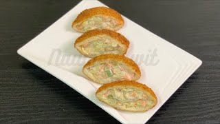 Bread Pocket ShawarmaEasy Bread Pocket Chicken Shawarma in 10 MinutesEasy RecipeNaumas Wit