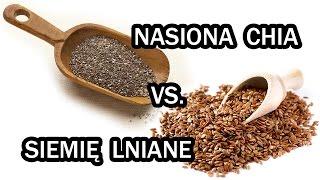 Nasiona CHIA vs. nasiona LNU - NAWIGUJ NA ZDROWIE #4