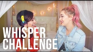 Whisper Challenge with Megan & Liz