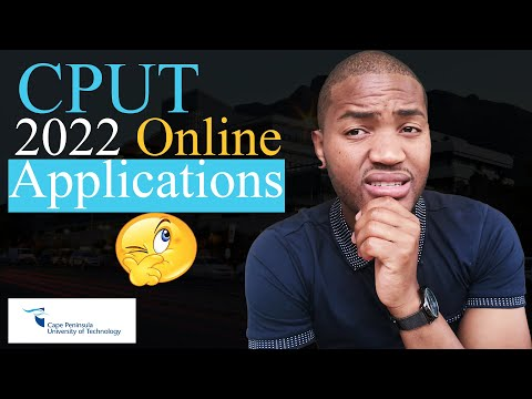 2022 Online Applications | How to apply at Cape Peninsula University of Technology (CPUT) online?