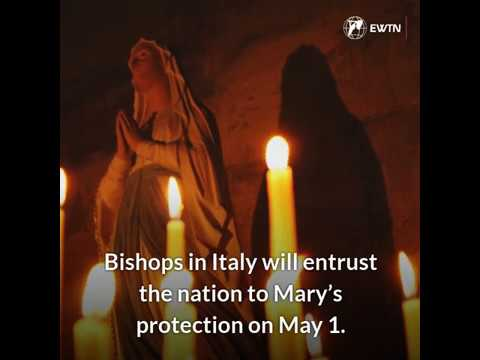 After receiving hundreds of requests, bishops to entrust Italy to Mary
