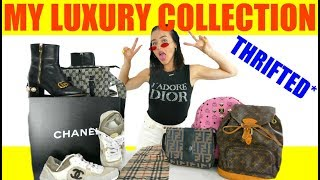 MY THRIFTED LUXURY COLLECTION