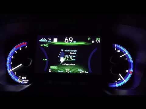 2020 Corolla Hybrid Test Drive - Great MPG!