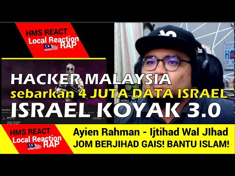 Ayien Rahman (YMYFAM) - Ijtihad Wal JIhad | Israel Koyak 3.0 Hacker Malaysia Hebat!!