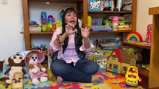 TEN LITTLE FINGERS SONG  #nurseryrhymes #kidssongs #childrensmusic #funathome