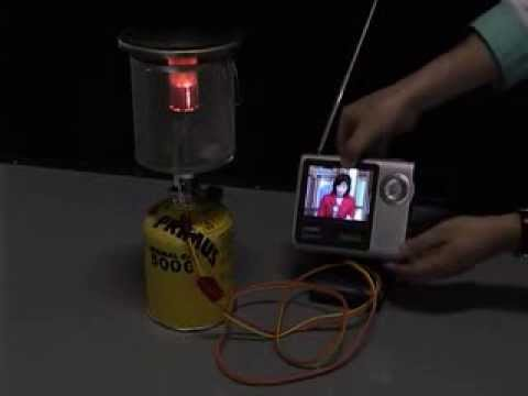 Direct Flame Fuel Cell (TV) Demo