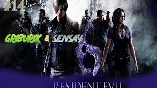 Прохождение Resident Evil 6 [Co op] #14 ●Поездка на поезде. Битва с мутировавшим Симмонсом.●