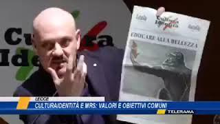 CULTURA IDENTITÀ   Il 23 marzo 2019 è sbarcata a Lecce CulturaIdentità