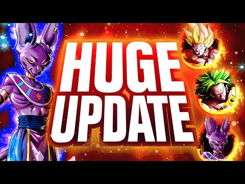 BIGGEST UPDATE IN DRAGON BALL LEGENDS HISTORY! FREE* Tickets, Co-Op & More EXPLAINED!