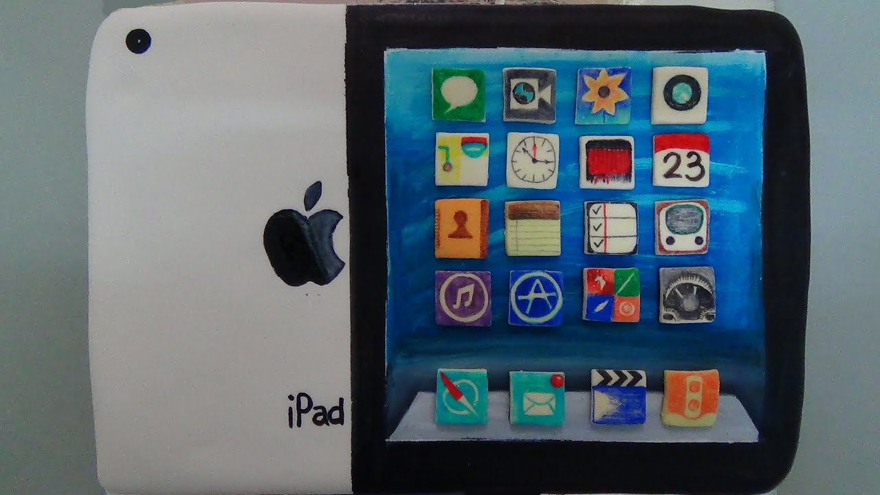 ipad cake YouTube