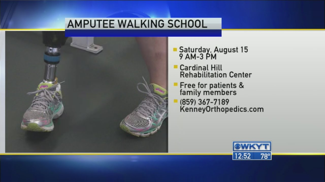 Kenney Orthopedics - Amputee Walking School