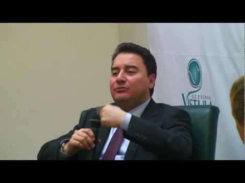 Turkey's Deputy Prime Minister Ali Babacan visits Vistula University