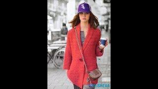 Свитера, Кардиганы Спицами для Женщин - модные варианты работ - 2019 / Sweaters Cardigans