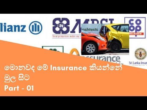 What Is Insurance -Sinhala Edition-මොනවද මේ Insurance කියන්නේ  මුල සිට
