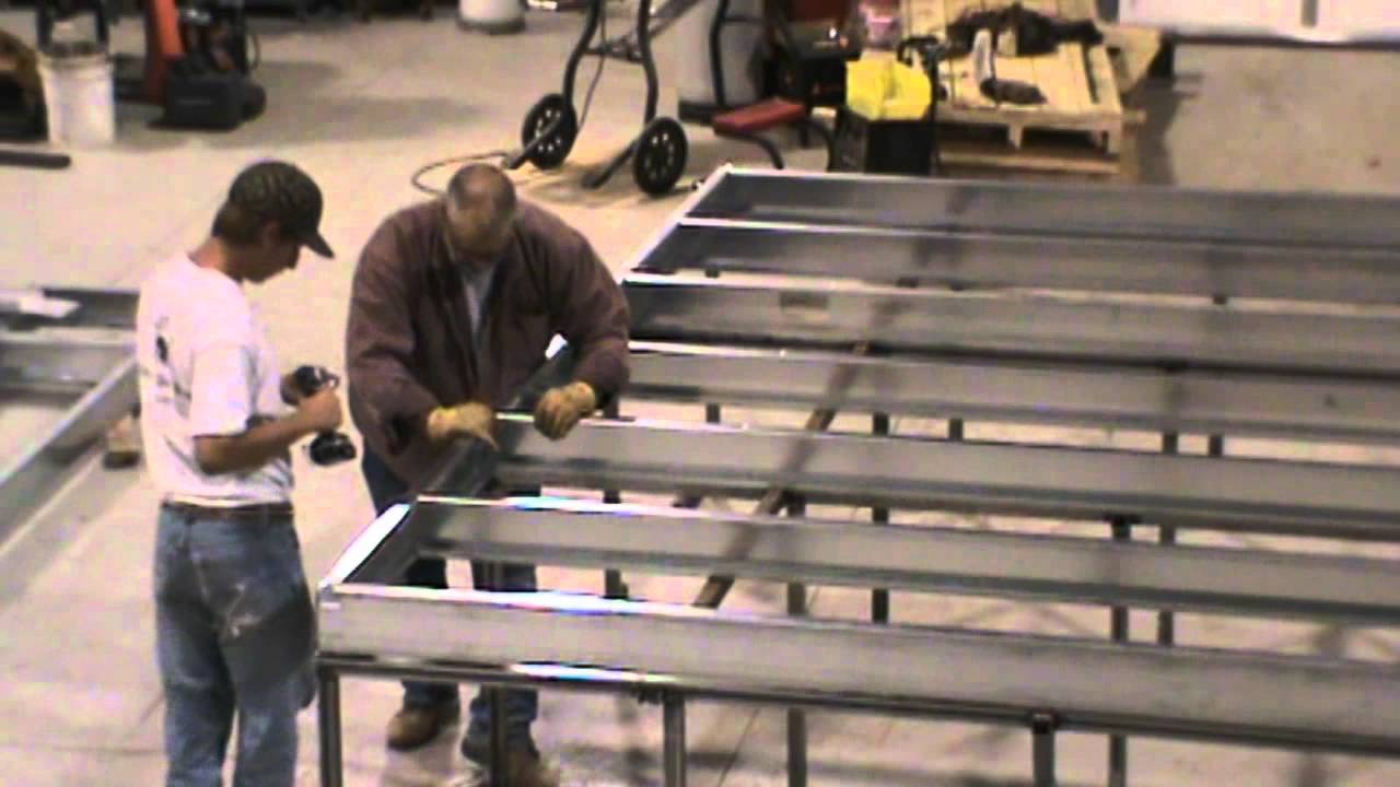 Steel Floor Assembly Youtube