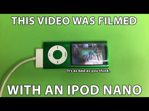 This Video Was Filmed With An IPod Nano. I'm Sorry.