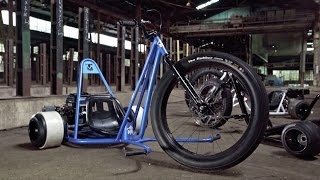 ToyMakerz  - SuperWheelz / Big Wheels Drift Trike Battle against SFD Industries!