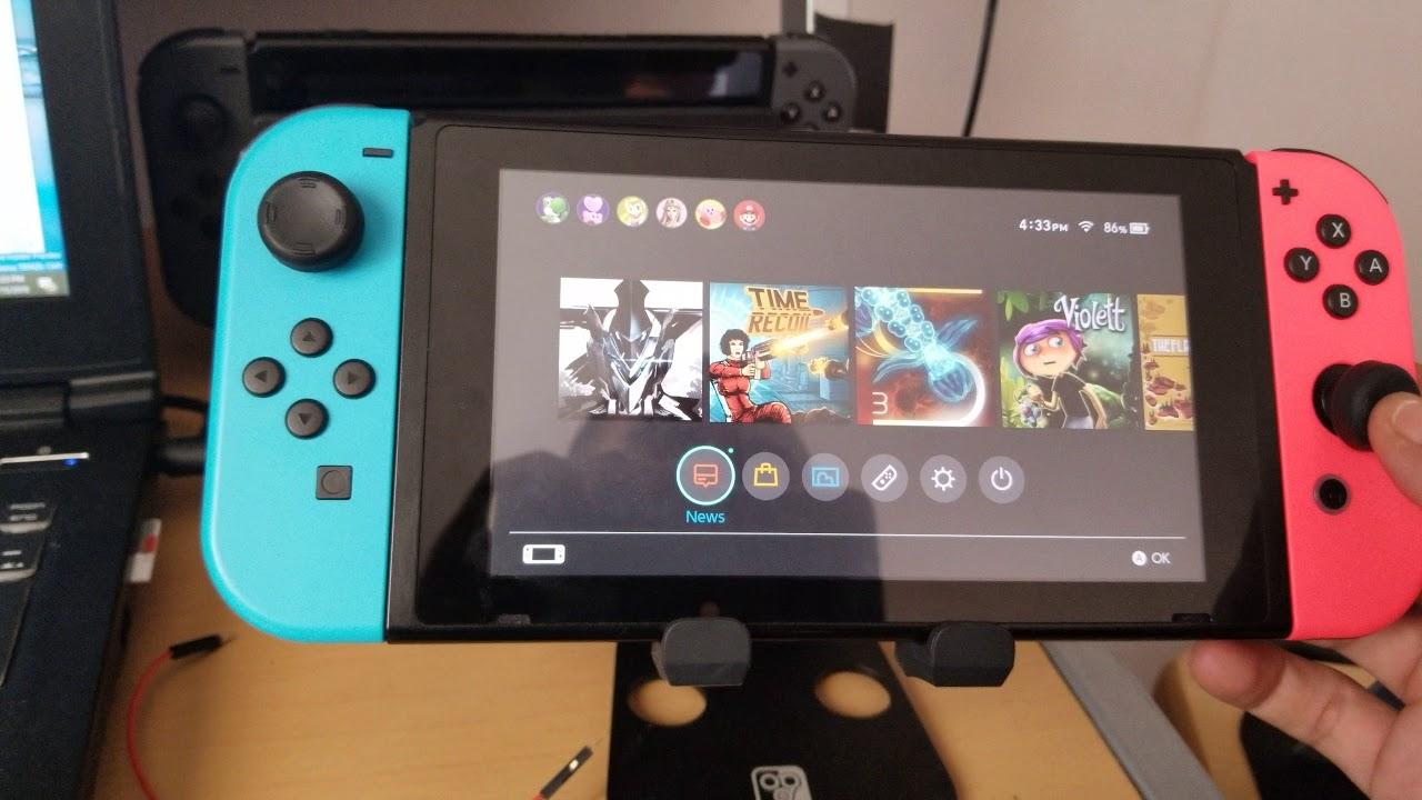 Homebrew Nintendo Switch Game Boy Color Emulator Virtual