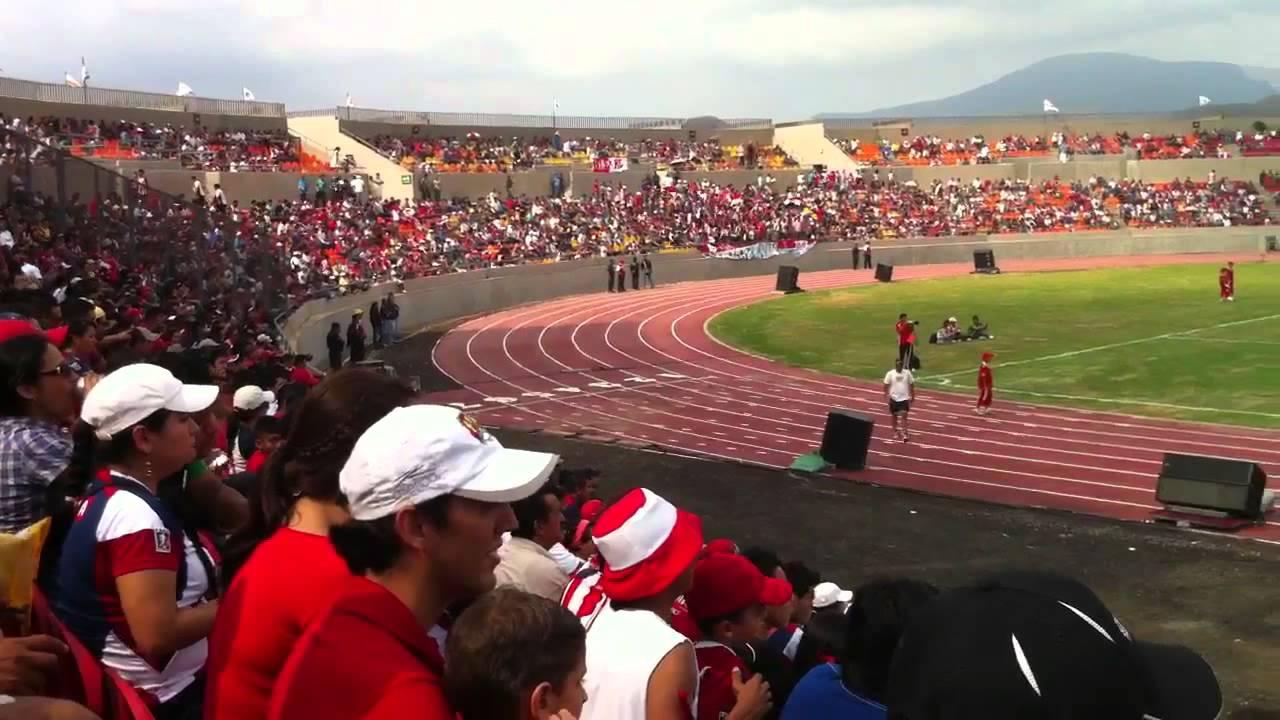 Inauguraci n del estadio arena cora youtube for Estadio arena