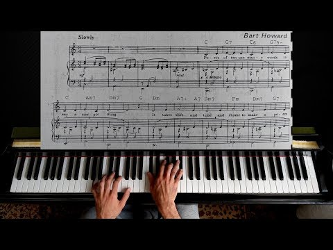 Fly Me to the Moon - Piano Tutotial | With Sheet Music