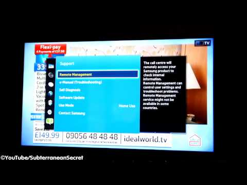 How To Perform A Software Update On A Samsung Smart Television