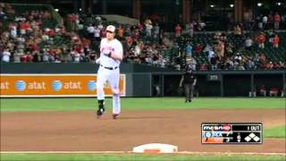 Matt Wieters 2012 Highlights