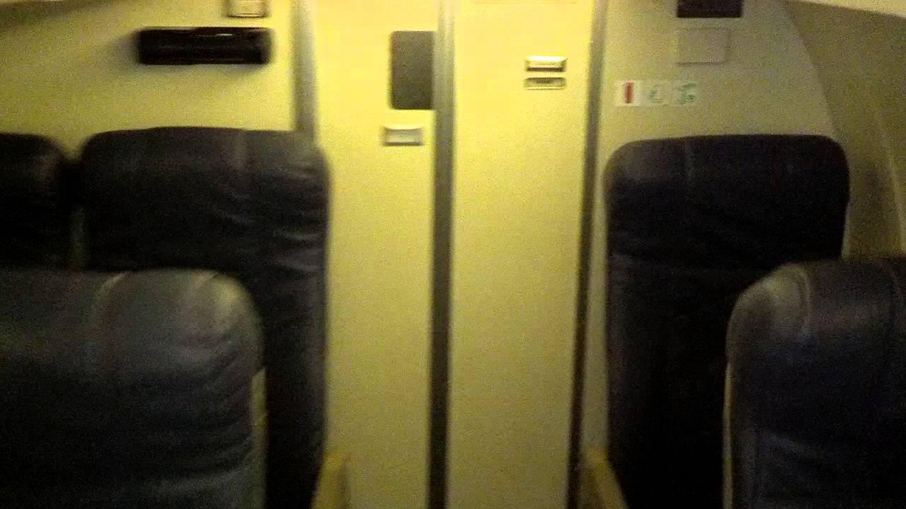 Embraer Erj 135 Cabin Tour Walkthrough Youtube